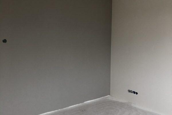 renovliesbehang voorzien van accentkleur